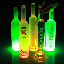 Custom design led light bottle 500ml vodka bottle unique wine bottles