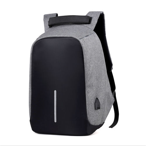 Wholesale outer USB battery charging travel laptop anti theft backpack