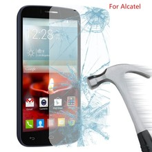 Tempered Glass Fingerprint No Rainbow Washable Screen Protector for Alcatel