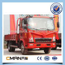 10ton sinotruk 4x2 light 6-wheel van cargo truck price