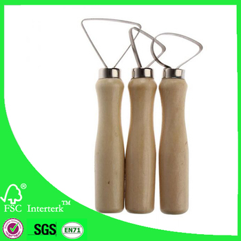 High Quality 10 Pieces Wooden Clay Ceramic Knife Sculpture Polymer Sculpting Pottery Clay Tools