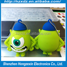 wholesale novelty usb flash diskMinions 2 4GB/8GB/16GB usb flash drive flash memory stick pendrive Free