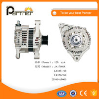 Auto parts LR165-714 LR170-768 JA1790IR alternator for Nissan 23100-AN000 generator 12v 65A