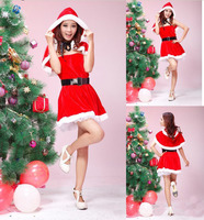2015 China Supplier Wholesale Christmas Adult Girls Sexy Christmas Costume Lingerie for party