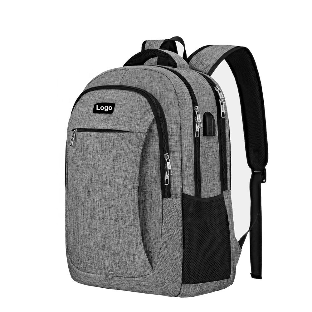 Business Travel Anti Theft Backpack Laptop Bags with USB charging port for Men Women