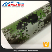 Vehicle Decal Stickers 1.52*30M Camouflage Car Wrapping Foil