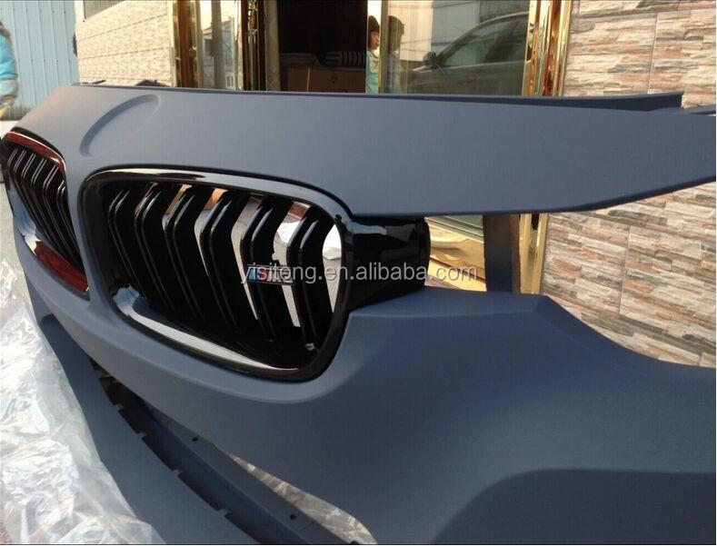 haute qualit calandre utilis sur bmw f30 m3 m4 modifi e brillant de style noir grille auto. Black Bedroom Furniture Sets. Home Design Ideas
