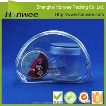 2016 New Designed Heat Sealed Promotion Clear PVC Cosmetic Bag Personalized