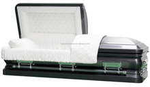 Casket And Coffin with Crepe Interior
