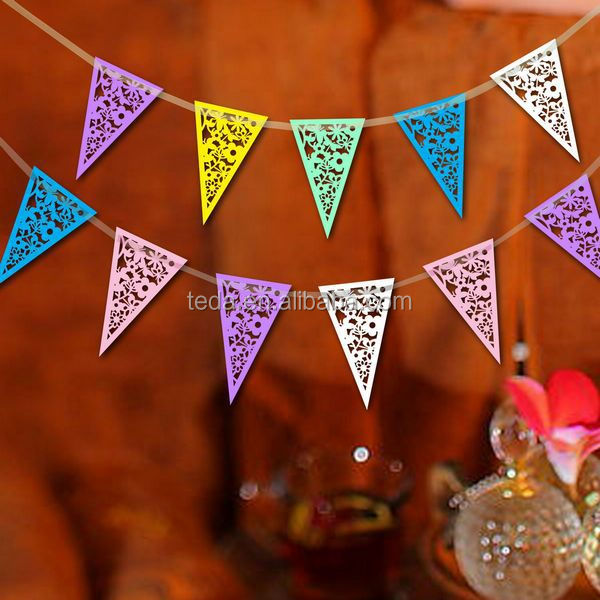 2014Teda halloween party decoration Paper Bunting/Banner/Flag