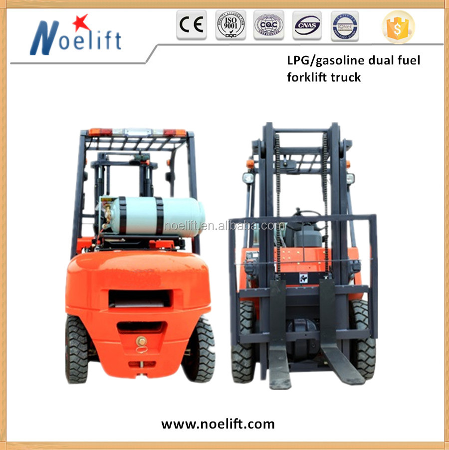 Japan original gasoline engine LPG forklifts perform efficiently under all circumstances both indoors and outside, with Nissan E