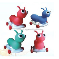 PVC inflatable jumping animal kids car