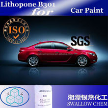For paint lithopone b301 zns 28-30%