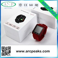 fashioable sport watch U8 smart watch compatible with smartphones