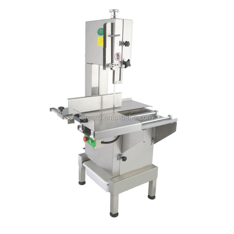 CT-BS300E Industrial Frozen Meat Cutting machine with Sliding woking table