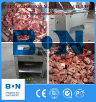 BON Meat Dicer Frozen Beef Dicing Machine Frozen Chicken Cube Cutting Mahine Frozen Fish Cutting Machine