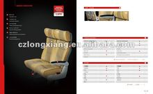 luxury automobile leather seat approved LXFK