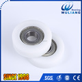 Sound prrof garage sliding door roller 6202ZZ plastic roller wheels