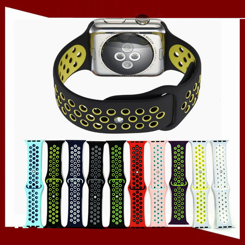 Wholesale Rubber Wrist Watch Band for Apple watch