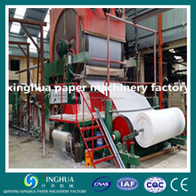 FOB qingdao price for toilet tissue paper making machinery prodution line