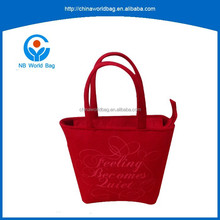 FGY sample free available pretty felt carry bag