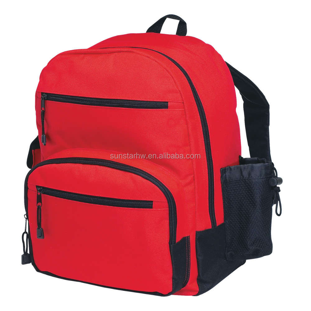OEM high quality 600D multifunction leisure backpack