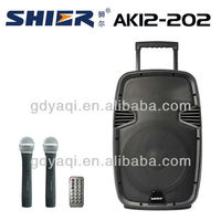SHIER AK12-202 amazing 12 inch active speaker with eq