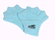 2017 fashion rosh silicone swim gloves