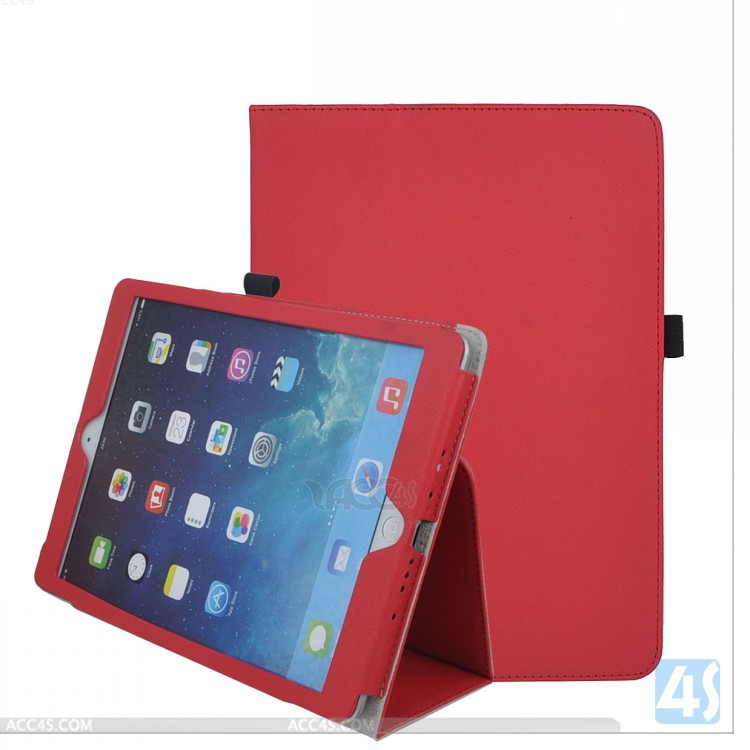 Amazon UK hot selling Leather Case with Stand for iPad Air P-APPIPD5PUCA018