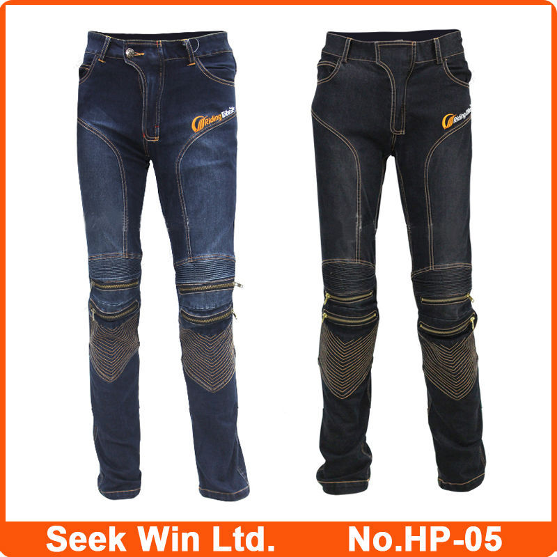 Kevlar Motorcycle Jeans Trousers Custom Made Motocross ...