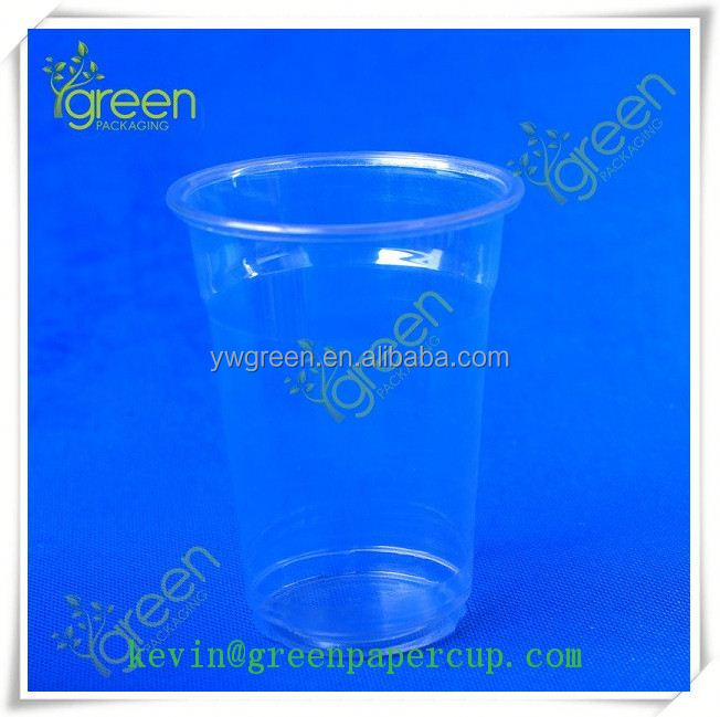 Hot sale wholesale plastic cups/plastic cup sealing film/disposable plastic cups for ice cream for drink