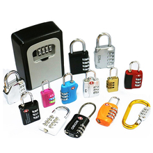Changhao Factory 3 digits TSA lock GYM lock luggage padlock combination lock