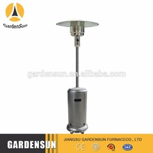 Type pyramid alcohol fuel patio heater hot sell