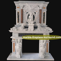 Hand Made Marble Stone Freestanding Double