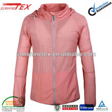 Women wind breaker jackets and wind proof jacket