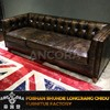 Luxury Furniture Button Tufted Back Vintage