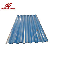 shandong building material 28 gauge corrugated steel roofing sheet metal for roof