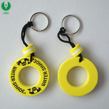 Advertising EVA Floating Buoy Keyring,Floating Keychain,Liftbuoy Key Holder