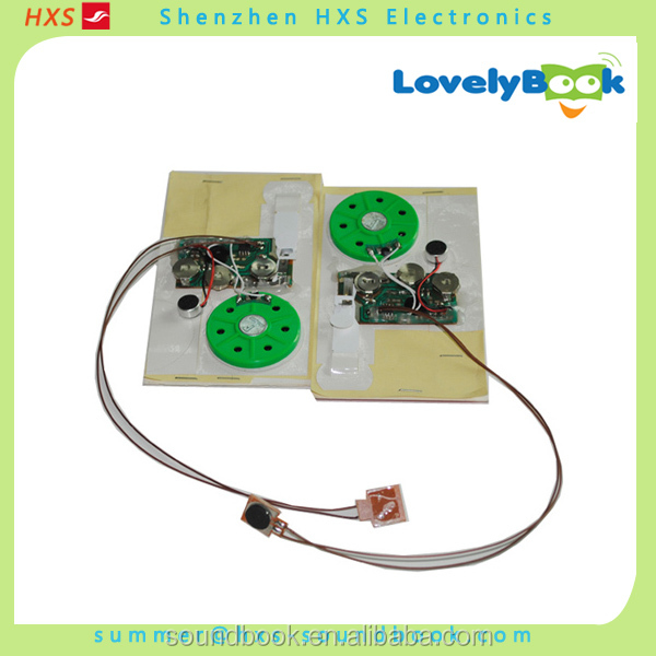 USB Programmable Greeting Card Voice Recording Module with Push Buttons Supplier