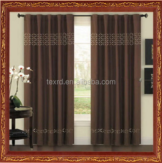 2014 new designs modern windows curtain from china