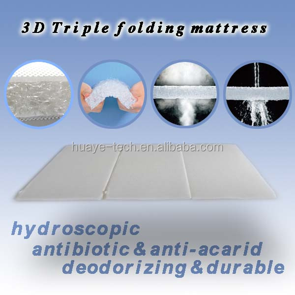 3D Triple folding mattress - Jozy Mattress | Jozy.net