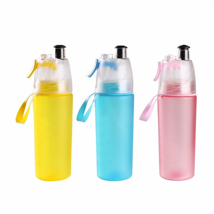 New custom free sample wholesale BPA sport shaker cup water bottle joyshaker with spray