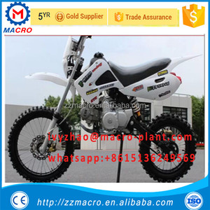 factory direct sale mini motorbicycle dirt bike 125cc adult