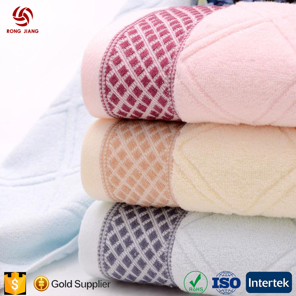 2017 Top Selling 100% Bamboo Fiber Bath Towel with Lowest Price