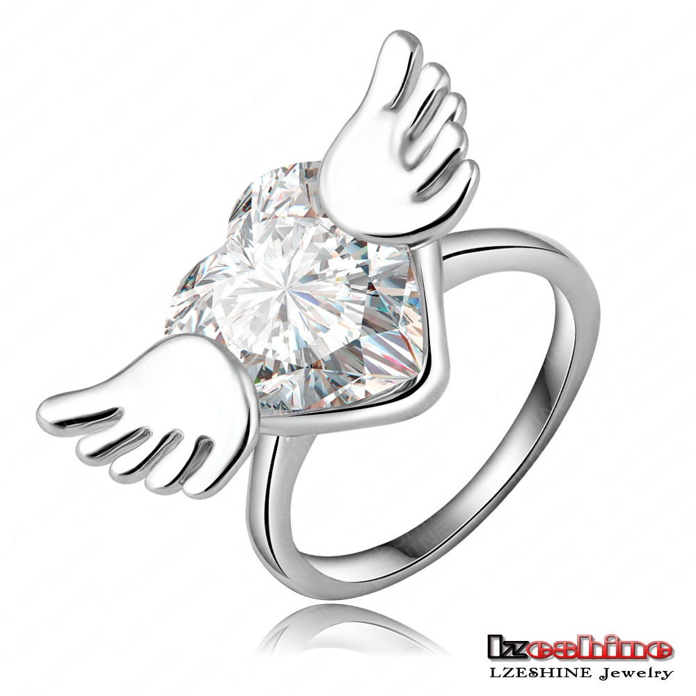 Lzeshine Engagement Fashion Angel Wing Rings With Platinum. Yellow Sapphire Rings. Smooth Wedding Rings. Riviera Pavé Diamond Engagement Rings. Zuni Engagement Rings. Twisted Engagement Rings. Warrior Rings. Brass Wedding Rings. Pure Gold Rings