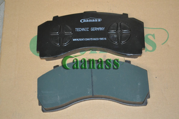 Chinese best auto oem quality volvo mercedes actros man truck brake pads