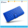 hot sale fashion evening smart ladies weave leather wallet