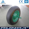 hot sales long hub length polyurethane coated wheel