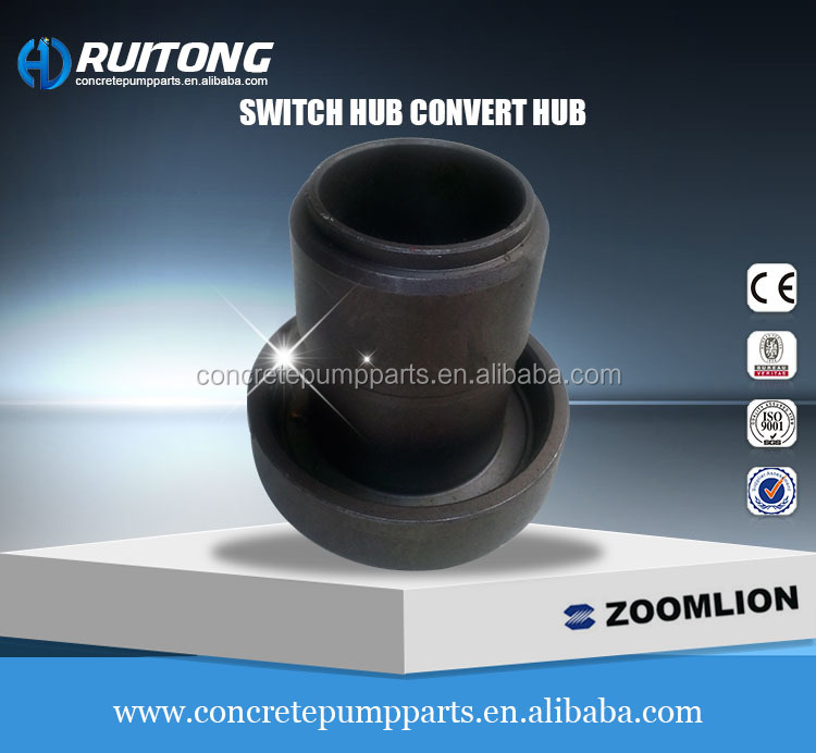 switch hub /convert hub for Sany & Zoomlion construction machinery
