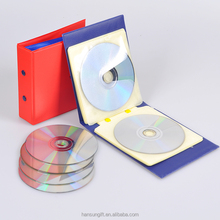 Customized PVC plastic material CD CASE 24 slots